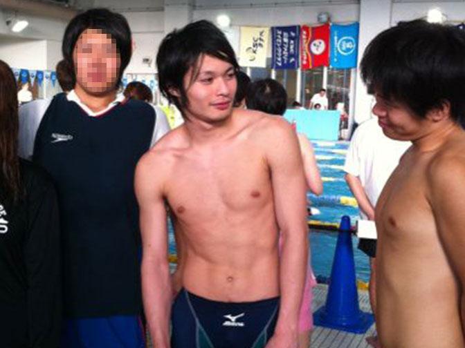 引退後の水泳の試合
